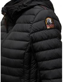 Parajumpers Juliet black ultralight hooded down jacket buy online price