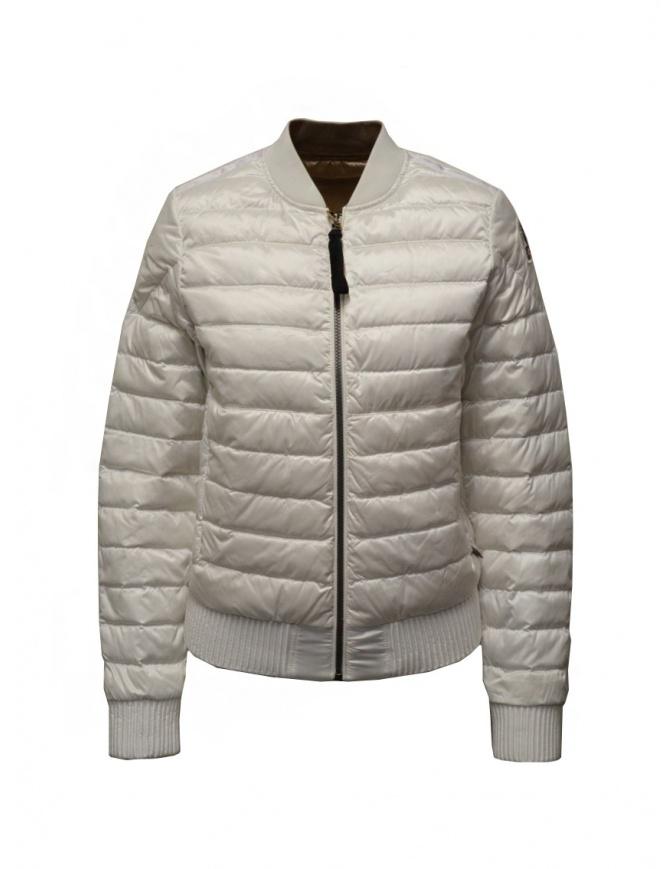 Parajumpers Sharyl Reverso padded bomber PWJCKSX36 SHARYL REVERSO WHTCAP. womens jackets online shopping