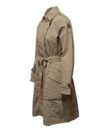 Parajumpers Nielsen beige waterproof trench coat
