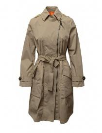 Parajumpers Nielsen beige waterproof trench coat online
