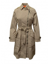 Parajumpers Nielsen trench impermeabile beige online