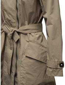 Parajumpers Nielsen beige waterproof trench coat womens coats buy online