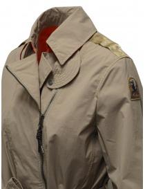 Parajumpers Nielsen beige waterproof trench coat womens coats price