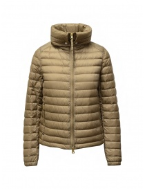Parajumpers Ayame short thin down jacket in cappuccino color price