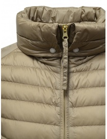 Parajumpers Ayame short thin down jacket in cappuccino color womens jackets buy online
