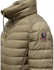 Parajumpers Ayame short thin down jacket in cappuccino color womens jackets price