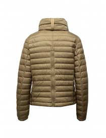 Parajumpers Ayame short thin down jacket in cappuccino color