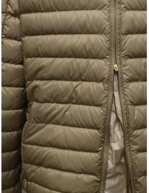 Parajumpers Ayame short thin down jacket in cappuccino color buy online price
