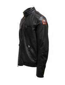 Parajumpers Justin Leather giacca in pelle nera