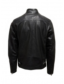 Parajumpers Justin Leather giacca in pelle nera prezzo