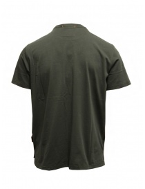 Parajumpers Mojave t-shirt verde con taschino