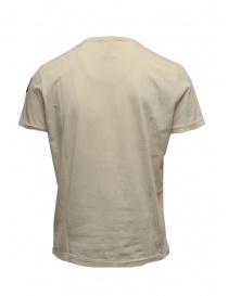 Parajumpers Basic Tee maglietta color crema con taschino