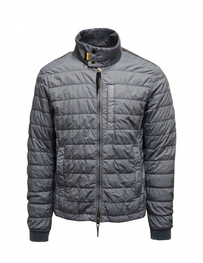 Parajumpers Leon thin ash blue down jacket PMJCKRX02 LEON QUARRY mens jackets online shopping