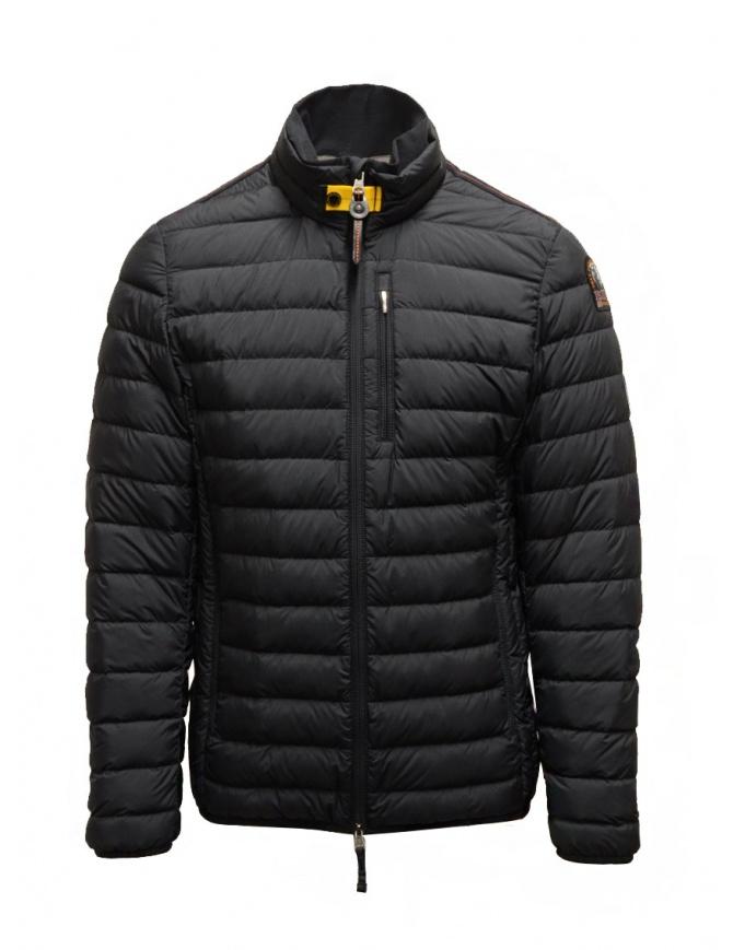 Parajumpers Ugo black super lightweight down jacket PMJCKSL04 UGO BLACK mens jackets online shopping