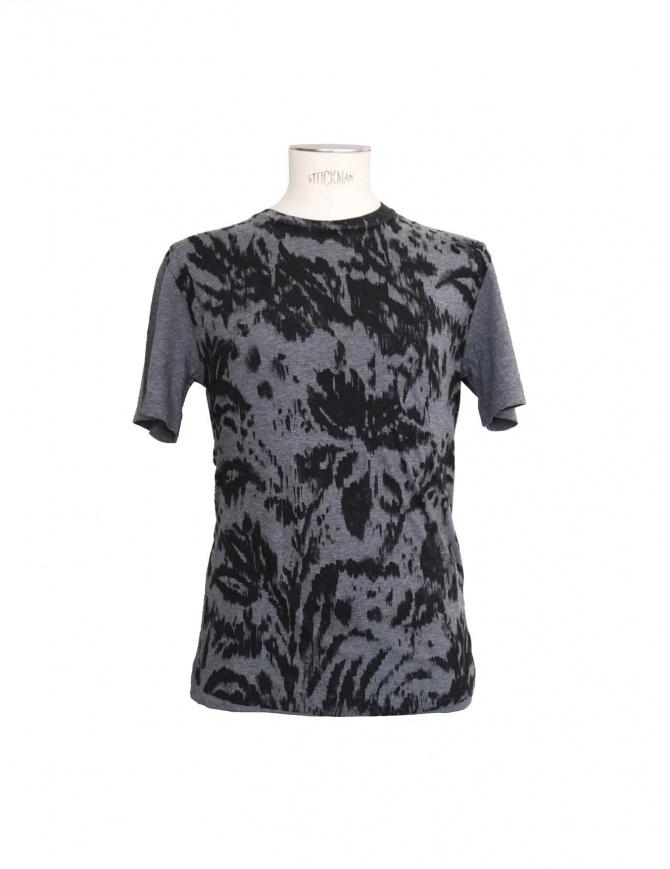 T-shirt Golden Goose colore grigio G21U524.A4 t shirt uomo online shopping