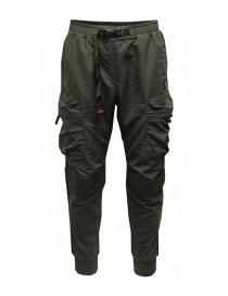 Parajumpers Osage green multi-pocket fleece pants online