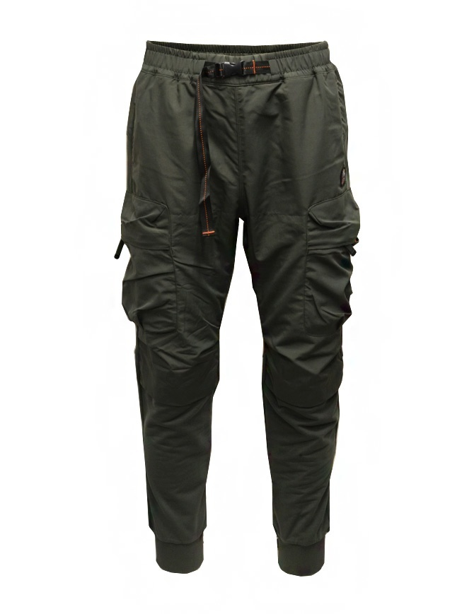 Parajumpers Osage green multi-pocket fleece pants PMFLERE04 OSAGE SYCAMORE mens trousers online shopping