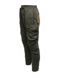 Parajumpers Osage green multi-pocket fleece pants