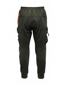 Parajumpers Osage green multi-pocket fleece pants price