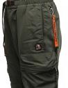 Parajumpers Osage green multi-pocket fleece pants PMFLERE04 OSAGE SYCAMORE buy online