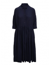 Casey Casey blue wool dress Stephanie Dress Kent online