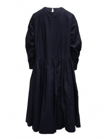 Casey Casey maxi long sleeve dress in blue cotton