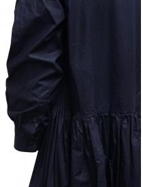 Casey Casey maxi long sleeve dress in blue cotton price