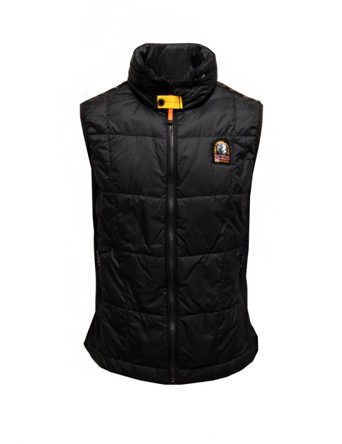 Parajumpers Goblin black padded vest PMFLEBW01 GOBLIN BLACK mens jackets online shopping