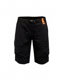 Parajumpers Asamo black bermuda shorts in technical fabric online