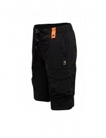 Parajumpers Asamo black bermuda shorts in technical fabric