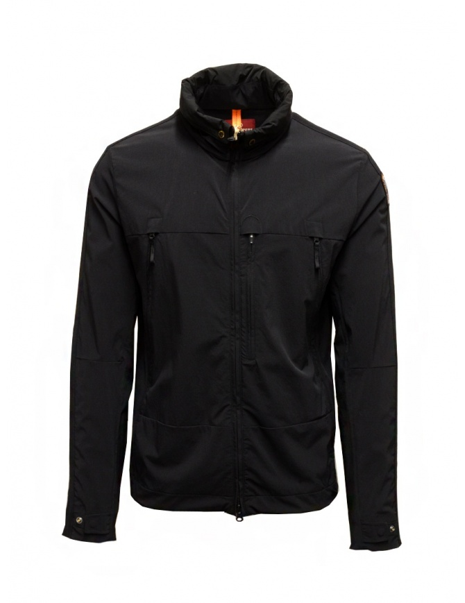 Parajumpers Kasuga giacca in tessuto tecnico nera PMFLERT02 KASUGA BLACK giubbini uomo online shopping