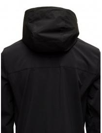 Parajumpers Kasuga black technical fabric jacket mens jackets buy online