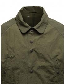 Descente swing coach giacca verde khaki prezzo