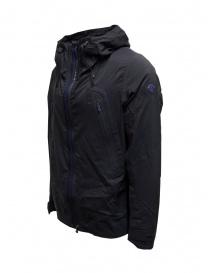 Descente Schematech blue hooded jacket