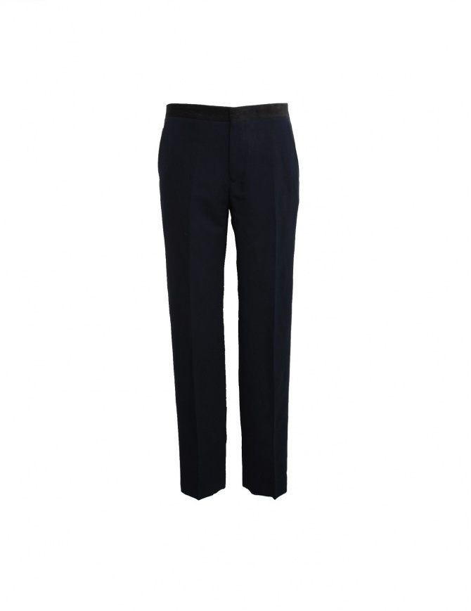 Golden Goose navy trousers G21U501_A5 mens trousers online shopping