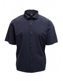 Descente camicia senza cuciture blu online