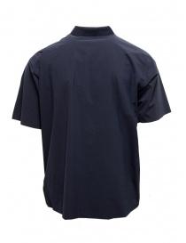 Descente camicia senza cuciture blu