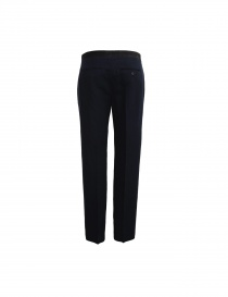 Golden Goose navy blue linen wool trousers