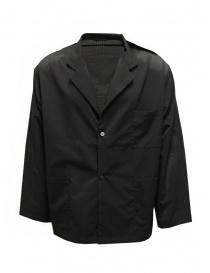 Descente blazer in unlined black technical fabric online