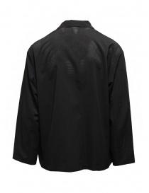 Descente blazer in unlined black technical fabric