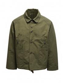 Descente swing coach giacca verde khaki online