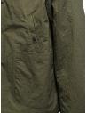 Descente swing coach giacca verde khaki DHURJC35U KHAKI acquista online