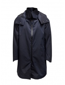 Descente H2Off Drizzle DWR navy blue raincoat online