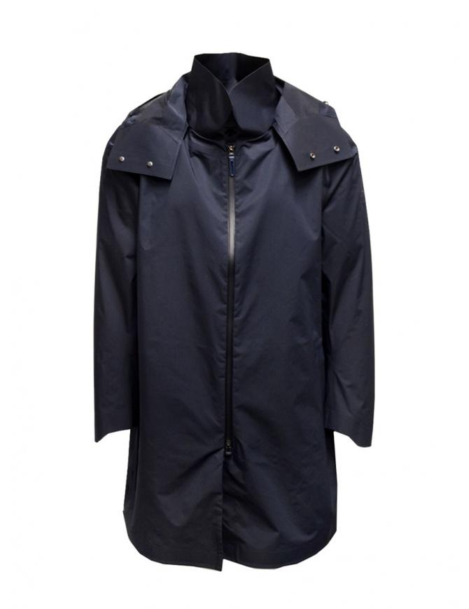 Descente H2Off Drizzle DWR navy blue raincoat DAMRGC38U NVGR mens jackets online shopping