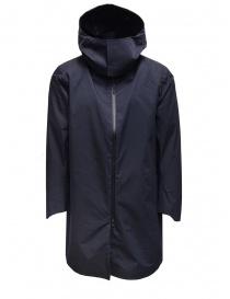 Descente H2Off Drizzle DWR navy blue raincoat