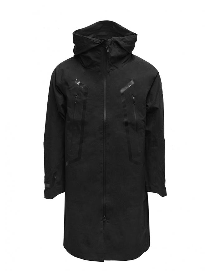 Descente Gore-Tex Pro X-Treme black raincoat DAMRGC33U BK mens jackets online shopping