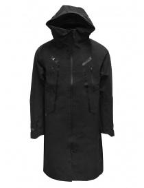 Descente Gore-Tex Pro X-Treme black raincoat