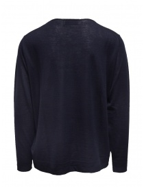 Ballantyne Raw Diamond blue cashmere crewneck sweater