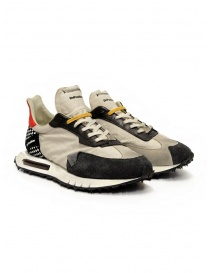 Calzature uomo online: BePositive Space Race Stone-Black sneakers fotosensibili
