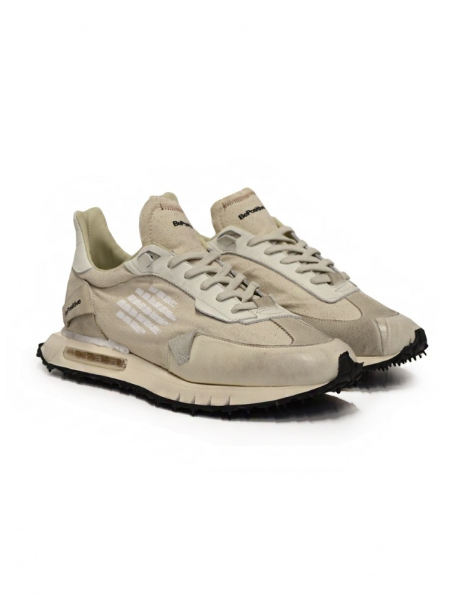 BePositive Space Race Stone beige sneakers S1RACE01/COT/STONE mens shoes online shopping